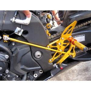 MAD MOTO Adjustable Rearsets YAMAHA R1 YZF-R1 2007 2008 Foot pegs Rear set sets