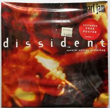 "PEARL JAM Dissident Special Edition POSTER BAG 1994 UK 7"" SEALED 45 Vedder MINTY"