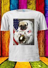 Astronaut Pug Funny Pugs Tumblr Dog T-shirt Vest Tank Top Men Women Unisex 1299