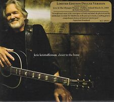 Kris Kristofferson / Closer to the Bone (2 CD Limited Deluxe Edition. NEU! OVP)