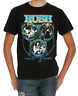 Rush LIVE IN CONCERT T-Shirt Rock Band NEW Authentic & Official