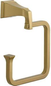 Delta 75146-CZ Dryden Bath Towel Ring Champagne Bronze Finish