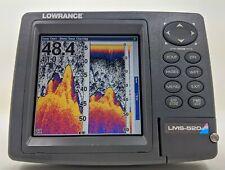 """Lowrance LMS-520C 5"""" GPS Radar Sonar Fish Finder Head Unit"""