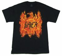 Slayer Flaming Eagle 2016 Tour Black T Shirt New Official Band Merch