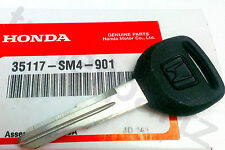 NEW Genuine OEM HONDA Acura Master Key Blank CIVIC CRX ACCORD CRV PRELUDE MORE