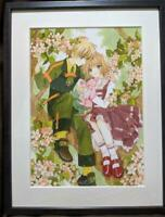 CARD CAPTOR SAKURA PRINT ART POSTER ANIME JAPAN COLLECTIBLE RARE F/S JAPANESE