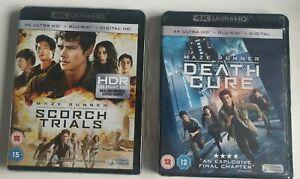 Maze Runner 4K Collection (4K Ultra HD + Blu-Ray) Scorch Trials / The Death Cure