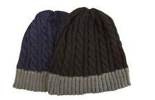 Bonnets noir en acrylique pour femme
