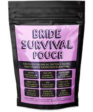Bride Survival Pouch - [ Wedding Themed Present ] - Fun Novelty Joke Gift Idea