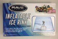 NEW Rave Sports Inflatable Back Yard Ice Rink 13'X10' - Inflate, Freeze & Skate!