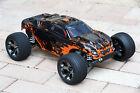 Custom Body Muddy Orange for Traxxas Rustler 2WD 1/10 Truck Car Shell Cover 1:10