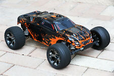 Custom Body Muddy Orange for Traxxas Rustler VXL 1/10 Truck Car Shell Cover 1:10