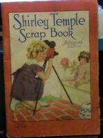 Vintage (1938) Shirley Temple Scrap Book, Vintage Ads/Vintage Pictures