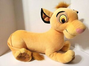 "Lion King Disney Simba Plush 18"" 2002 Hasbro"