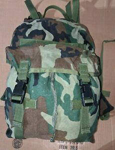 Woodland BDU USGI MOLLE II Patrol Pack Assault Pack, near MINT Condition