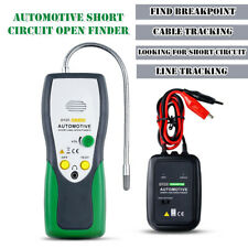Automotive Short Circuit Open Finder Transmitter Receiver Wire Tracing Universal
