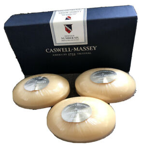 Caswell Massey Americas Original Since 1752 Number Six Triple Milled Soap 3 Bars