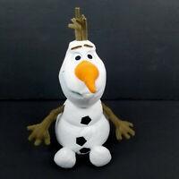 "Disney Parks Frozen Olaf Snowman Plush Stuffed Animal Soft Toy White 10"""