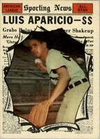 1961 Topps #574 Luis Aparicio AS - EX