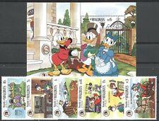 Walt Disney, Grimm - Malediven - 1155-1160, Bl.115 ** MNH 1985