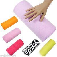 Manicure Care Salon Half Hand Cushion Rest Pillow Nail Art Design Soft Column