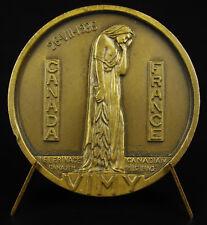 Médaille De Possesse Parc mémorial Vimy Canada CANADIAN/ PILGRINAGE 1936 medal
