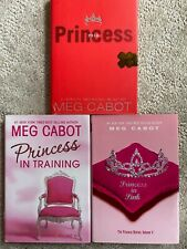 Lot of 3 Hardcovers in the Princess Diaries Series by Meg Cabot - #4, 5, 9