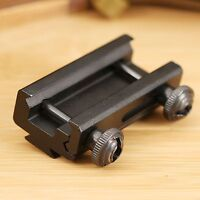 Hunting Rail Extension Scope Adapter Mount Base 20mm to 11mm Dovetail Picatinny