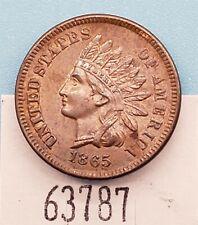 West Point Coins ~ 1865 Indian Cent UNC