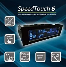 Gelid Solutions speed touch 6, écran Tactile LCD, 6 x PC Fan Speed Controller
