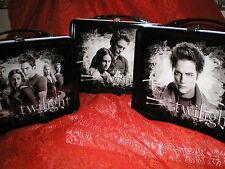 TWILIGHT, EDWARD,  & EDWARD & BELLA,  NECA Metal Lunch Box Thermos Mint Lot