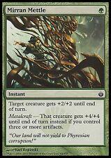 Mirran Mettle X4 EX/NM Mirrodin Besieged MTG Magic Cards Green Common