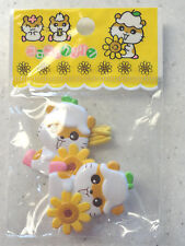 Japanese Asian Hamster Hairbands Hair Elastics Large