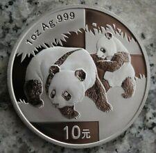 10 Yuan 2008 Silbermünze China 1 Silber-Unze - Panda - Top !