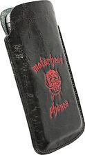 "Motörhead Phönes ""Burner"" Schutzhülle, rotes Logo, Handy Hülle Größe L"