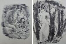 Mariette LYDIS : Le grand frère / Elegante - 2 GRAVURES - #1947