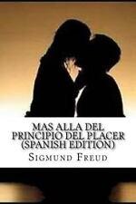 Mas Alla Del Principio Del Placer by Sigmund Freud (2016, Paperback)