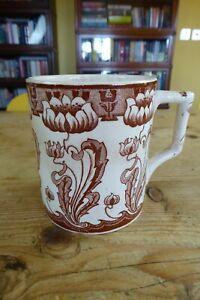 Victorian Arts & Crafts/Aesthetic Movement/Art Nouveau Pottery Mug a/f