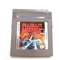 Radar Mission ORIGINAL Nintendo Gameboy Game TESTED WORKING AUTHENTIC!