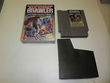 BAD STREET BRAWLER GAME with CRISP BOX no manual NINTENDO NES HQ BOX #A