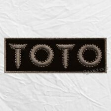 Toto Logo Embroidered Patch Rock Band Joseph Williams Jeff Mike Porcaro Africa