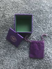 Wimbledon Tennis Campionships Small Jewellery Gift Box With Jewellery Pouch