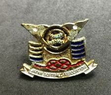 Japan Softball Association Pin Badge different type