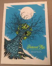Fleetwood Mac Poster Screen Print Houston 2014 Signed Numbered Perkins Original