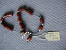Nwt Rose Wood Worry Beads Handmade In Greece