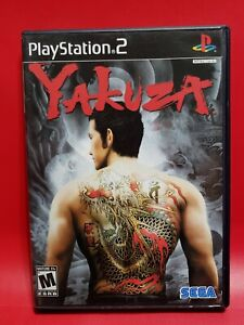 Yakuza (PS2 Sony PlayStation 2, 2006) Complete !!
