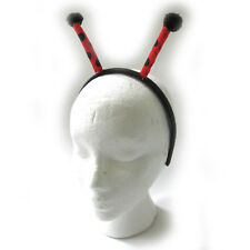 Lady Bug Antennae Insect Butterfly Headwear Headband Adult Costume Accessory
