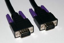 SVGA VGA Cable Male to Male Plug to Plug 0.5m / 50cm