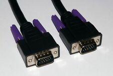 SVGA VGA Cable Male to Male Plug to Plug 0.5m / 50cm