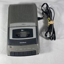 RadioShack CTR-120 Portable Desktop Audio Cassette Tape Voice Recorder Works